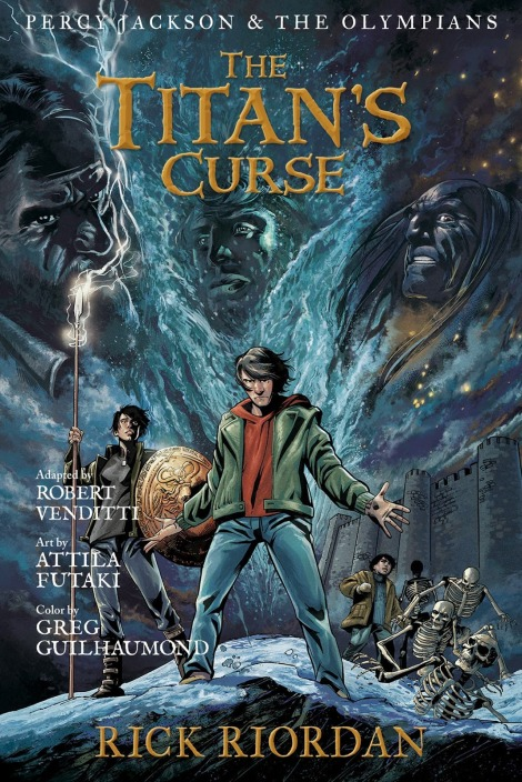The Titan's Curse Graphic Novel