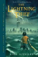 Image result for percy jackson and the lightning thief book cover