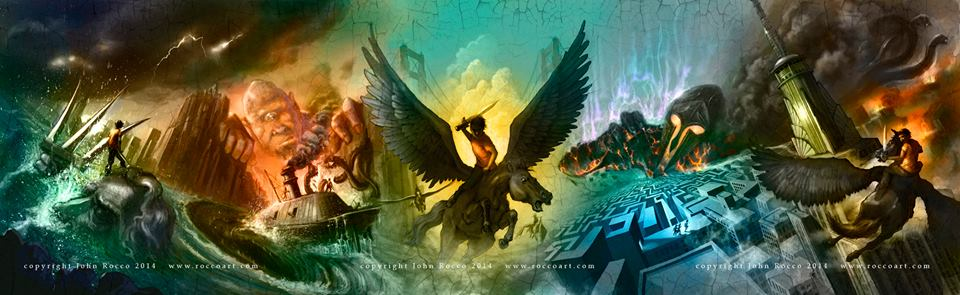 Book Cover Art Software : New percy jackson covers forever bookish